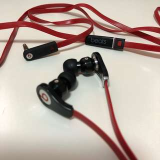 Beats Red Earphone 紅色耳機