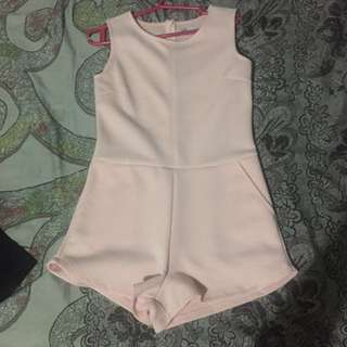 Pastel Pink Romper