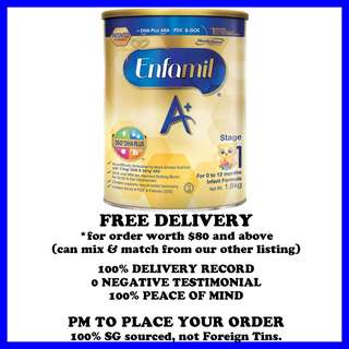 Enfamil Stage 1 - with 360o DHA PLUS