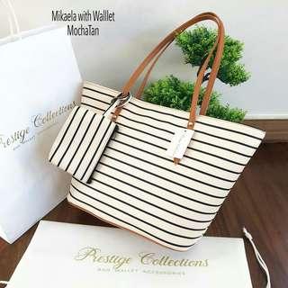 Mikaela Slim Printed Bag