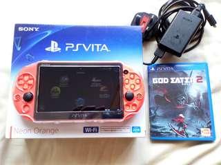 Playstation Vita Neon Orange