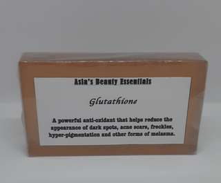 Glutathione soap (brown)