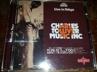 Music CD: Charles Tolliver / Music Inc ‎–Live In Tokyo - Jazz