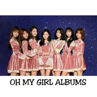 OH MY GIRL ALBUMS