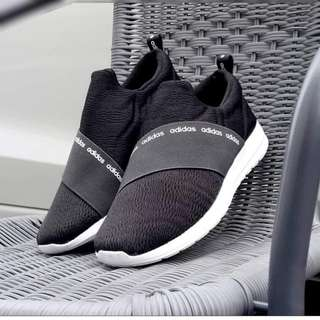 Adidas slip on refine black white original