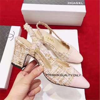 Chanel Heels - pink