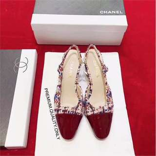 Chanel Heels- red