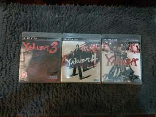 Ps3 Games Yakuza