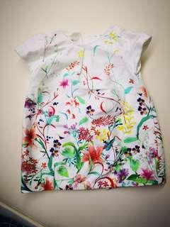 Zara babygirl 6/9month party dress 連身裙