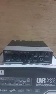 Steinberg UR 22 Audio Interface