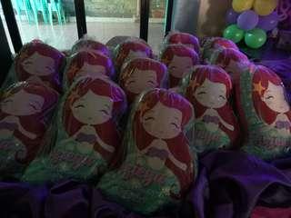 Little mermaid pillows