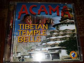 Music CD: Acama ‎– Tibetan Temple Bells