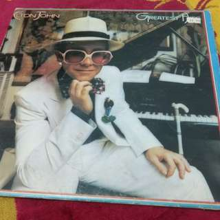 Elton John LP record vinyl
