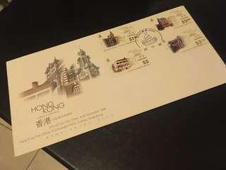 香港市區傳統建築物 郵票 1996 首日封