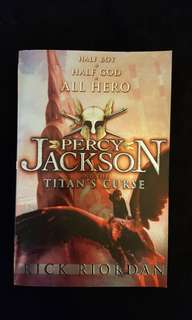 Percy Jackson and the Titian's Curse by Rick Riordan
