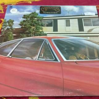 Carpenter now & then LP record vinyl