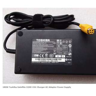 LF 180W Toshiba Satellite X200-23G Charger AC Adapter Power Supply