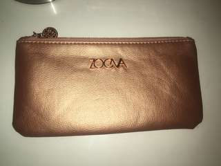 Zoeva make up brush bag rose gold