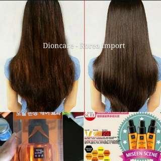 Hair serum for silky hair