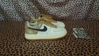 Nike Air Force One XXV Gold Sneaker Second Bekas Import