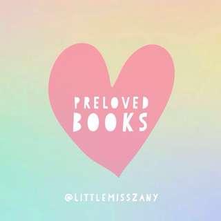 PRELOVED BOOKS AND COMICS