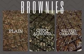 Brownies and cookies for hari raya (kuih raya)