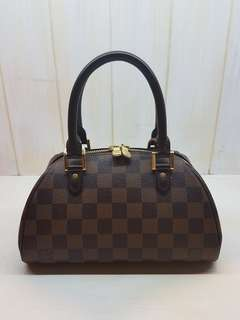 Louis Vuitton DE small bowling bag