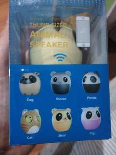 3 in 1 wireless animal bluetooth speaker
