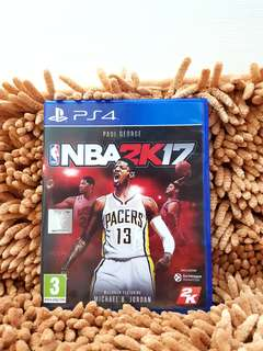 PS4 NBA2K17 (Negotiable)