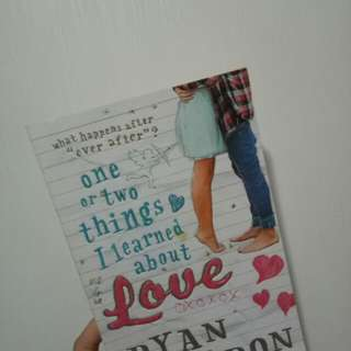 Ome or Two Things I Learned About Love by Dyan Sheldon