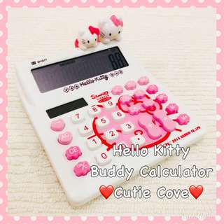 *NEW IN IN SG* Hello Kitty Buddy Calculator