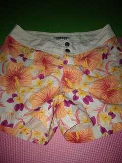 Swim wear esprit short and lace top