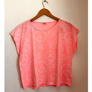 Neon Hipster Top