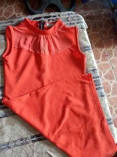 Pre Loved Orange Formal Dress