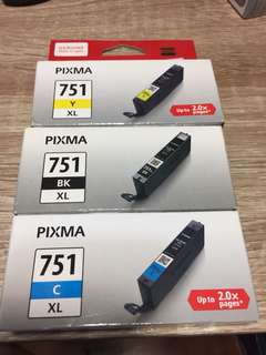 Canon 751 Printer Ink