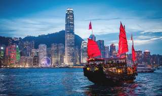 Hong Kong with Shenzen