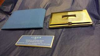 Links silver card holder