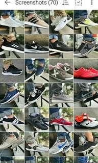 Adidas Nike Armani Underarmour Shoes Original