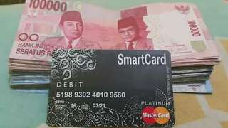 REGISTER KARTU ATM SMARTCARD PLATINUM