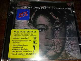 Music CD: Miles Davis ‎– Filles De Kilimanjaro - Jazz