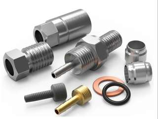 Hydraulic hose adapter for Avid