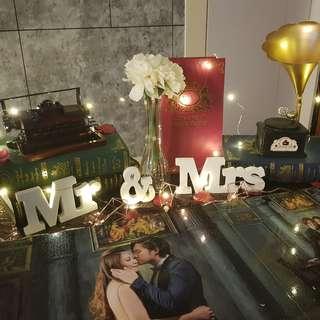 Wedding Props Rental / Setup Service