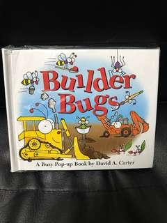 Builder bugs Pop-up book 兒童立體書