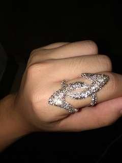 Lovisa Diamond Silver Ring