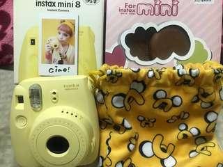 Mini 8 拍立得黃色