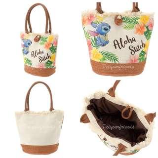 日本迪士尼預訂品 Stitch Day tote bag