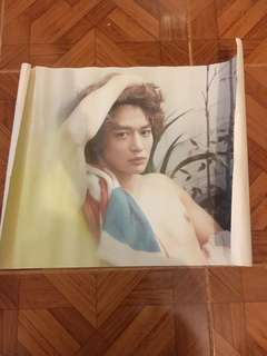 Shinee MinHo CD Poster