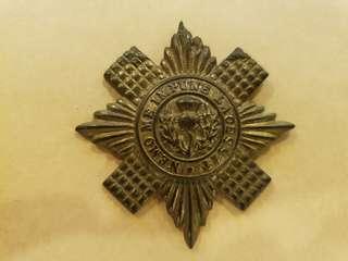 WW2 British Army Scots Guards cap badge