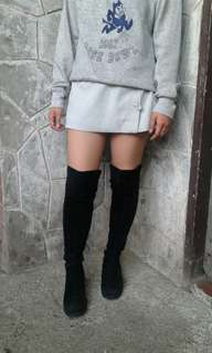 Stacatto 50/50 thigh high boots