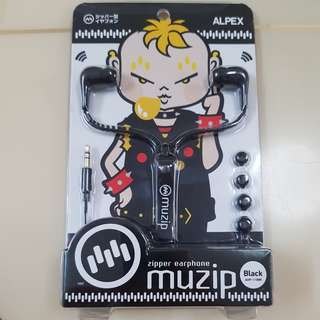Alpex Muzip earphone